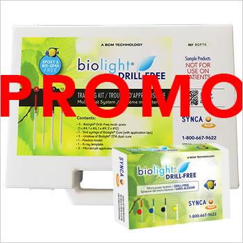 PROMO Biolight DRILL-FREE training kit + assorted kit